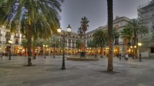 Plaça Reial Serge Melki
