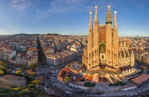 Barcelona Panoramic Sagrada Familia