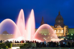 Montjuic Fountain Barcelona