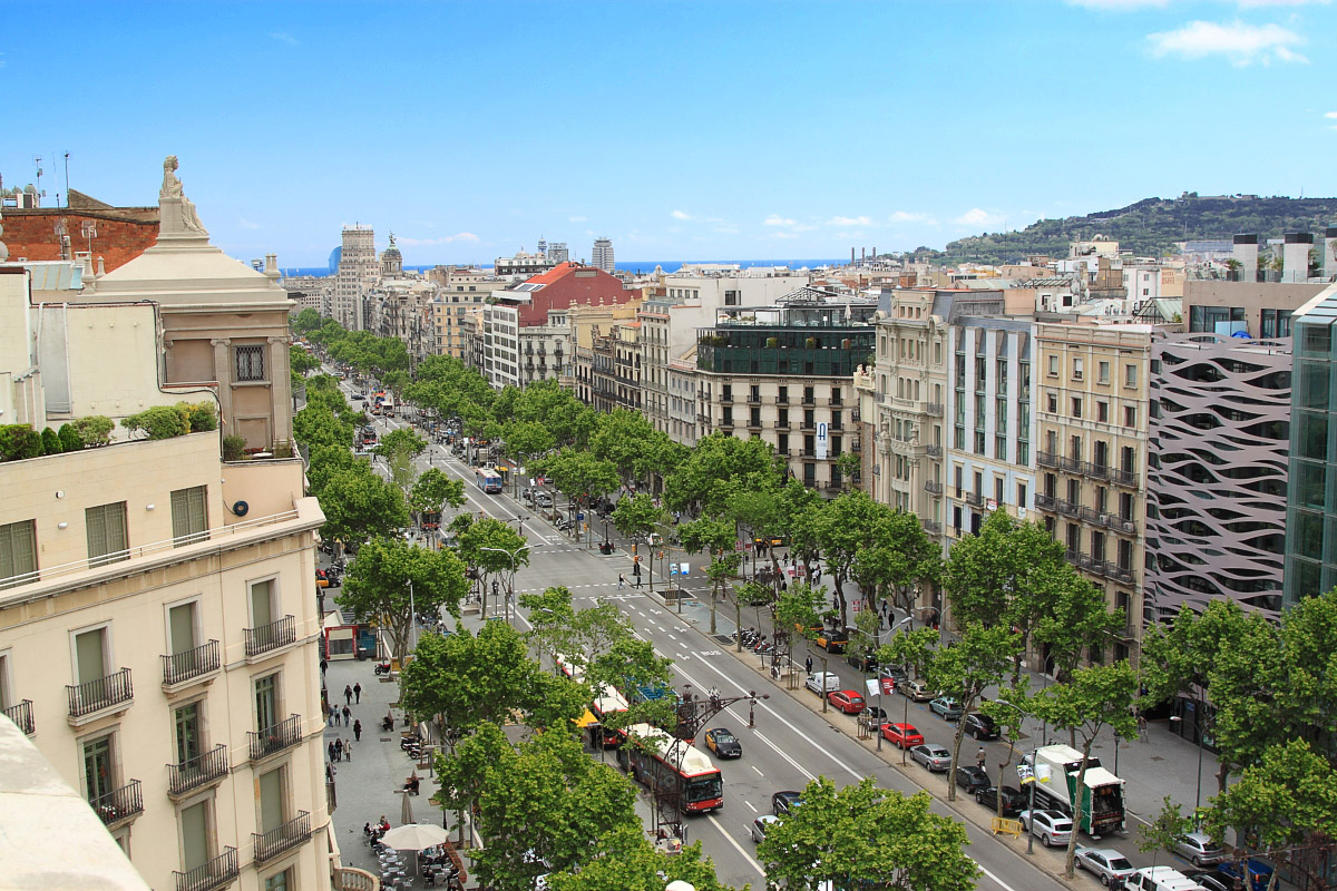 Holiday apartments in barcelona barcelona connect - Restaurant passeig de gracia ...