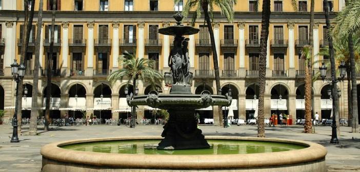 Placa Reial Fountain