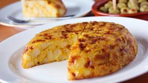 Tortilla de patatas tapas