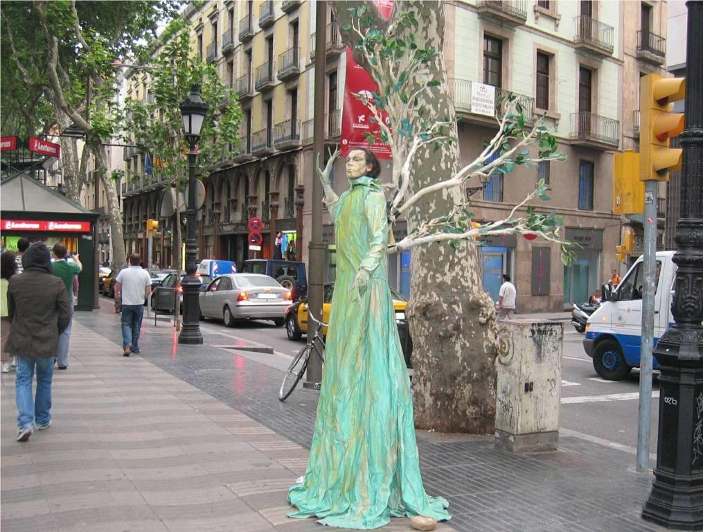 La rambla barcelona connect for Ramblas barcellona
