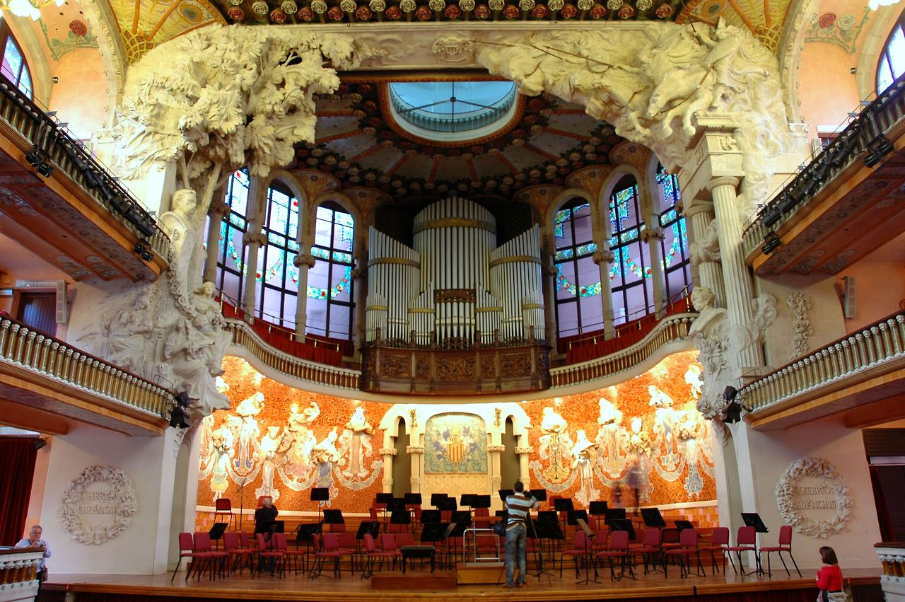 palau catalana musica barcelona musica music palace catalan spain wikipedia catala orfeo