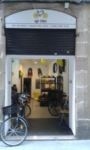 Ajo bike rental shop Barcelona