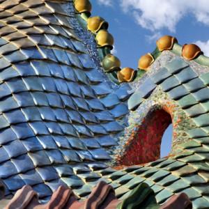 Casa Batllo Barcelona detail