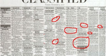 Classifieds adverts Barcelona
