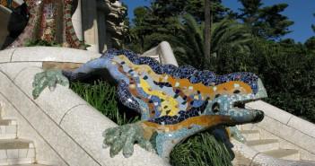 Gaudi Dragon Barcelona