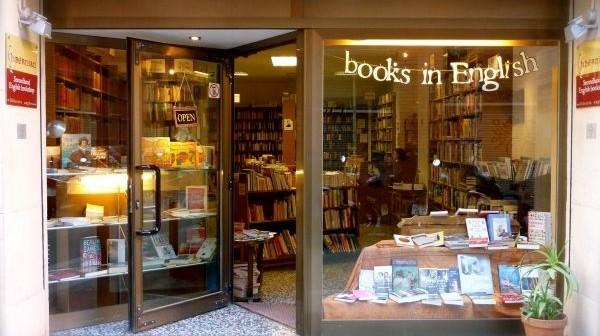 Hibernian English Bookshop Barcelona