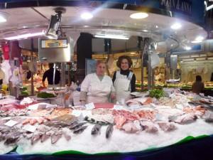 Mercat Galvany fresh fish