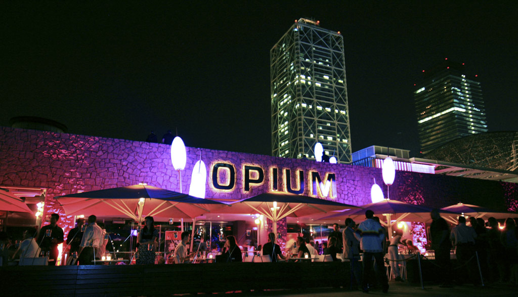Opium Mar Barcelona seafront club