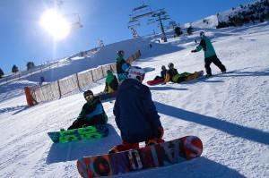 Snowboarding-at-La-Molina-Barcelona
