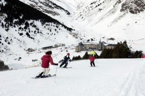 Vall de Nuri Ski Near Barcelona