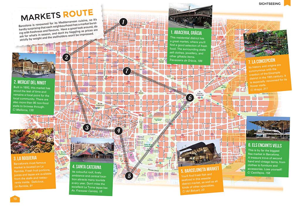 Barcelona Markets Route