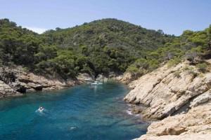 Hidden coves near Tossa de Mar