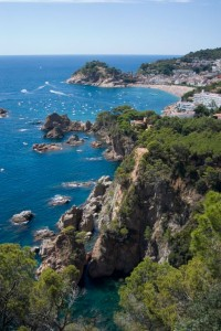 Spectacular beaches at Tossa de Mar