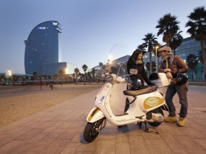 Vesping.Barcelona.Gps.Guided.Vespa.Tour 2