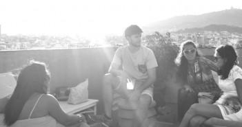 Homies Barcelona terrace