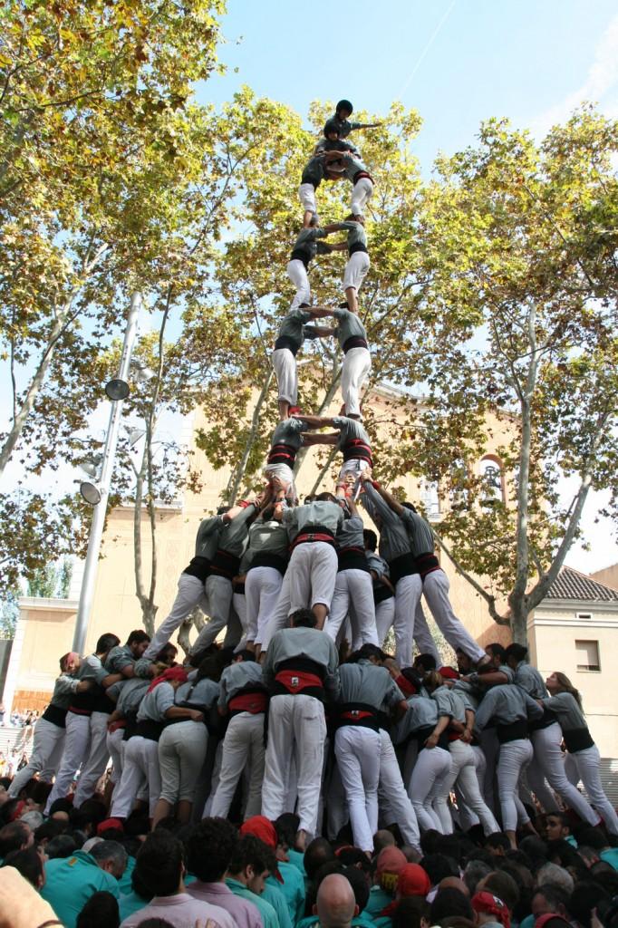 Castellers Sants Diada