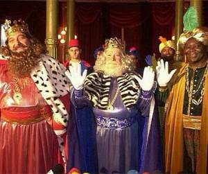 3 kings parade Barcelona