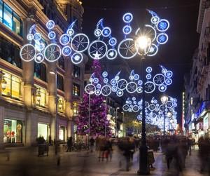 Barcelona Christmas lights__