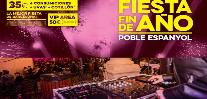Festa fin de año poble español