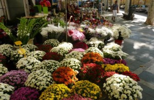 Flowers Rambla Barcelona