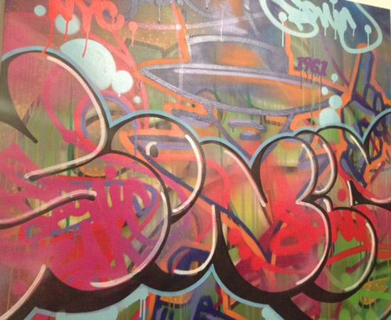 Sonic street art