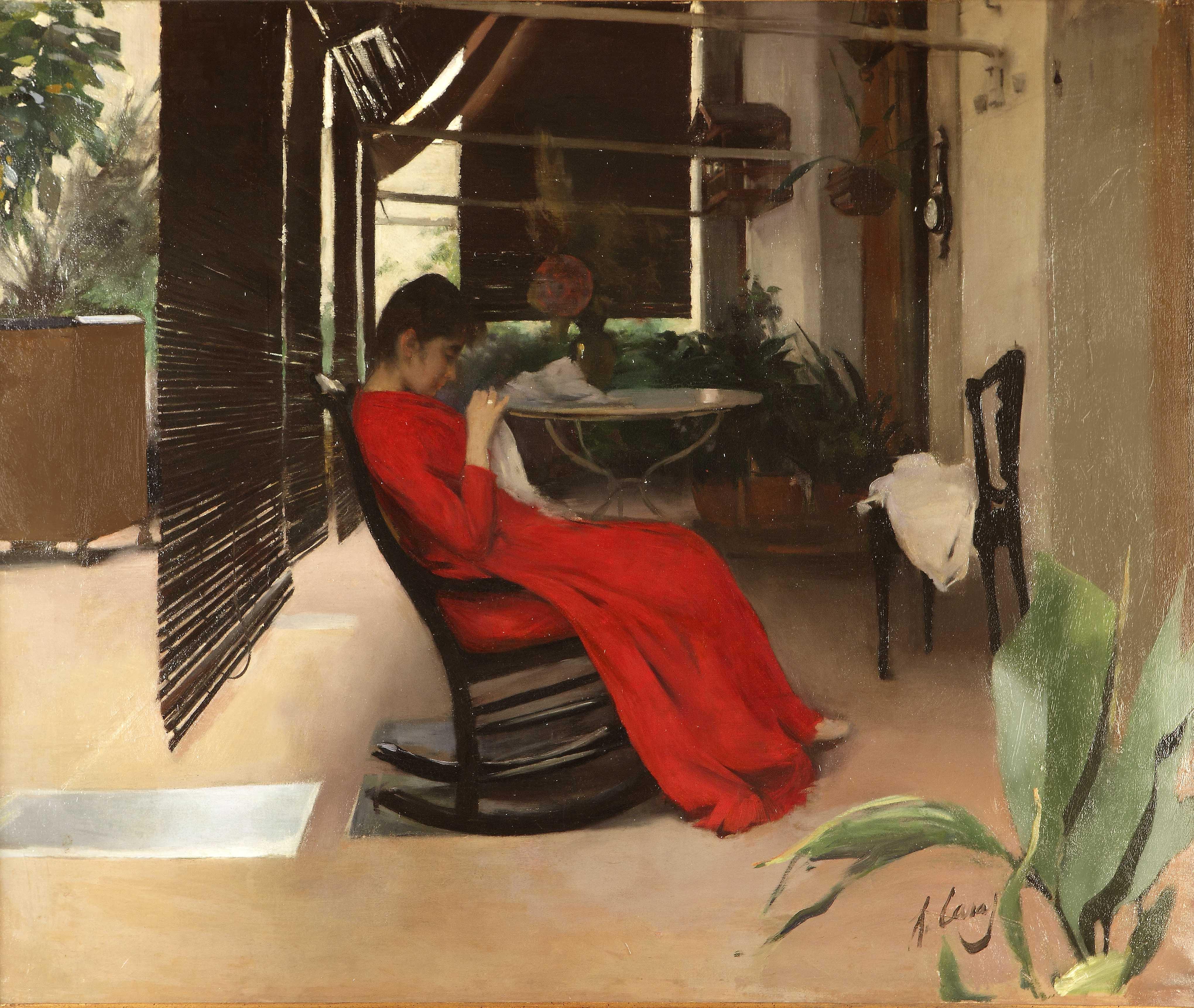 Ramon Casas: La Vida Moderna | Barcelona Connect Modern Gothic Paintings