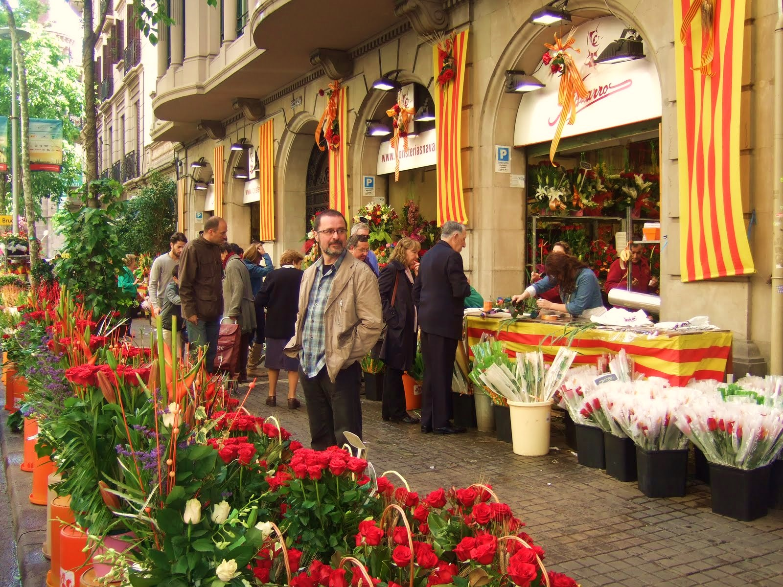 Sant jordi 39 s day barcelona connect for Piscinas sant jordi barcelona
