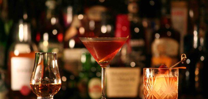 Evening cocktails in trendy El Born