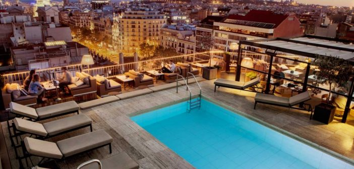 Living the high life on barcelona 39 s swanky hotel terraces for Swanky hotel