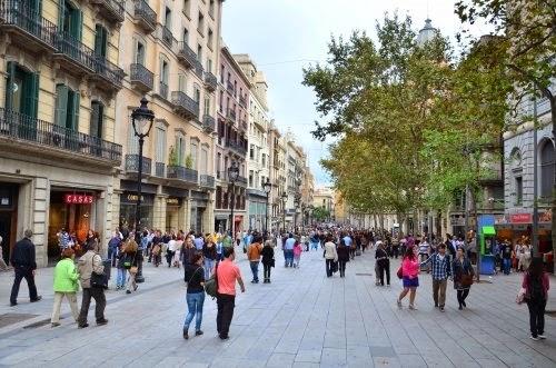 Portal Del Angel Shopping Barcelona Connect