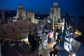 Summer nights La Pedrera