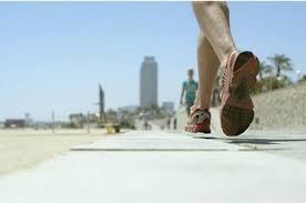 beachside running