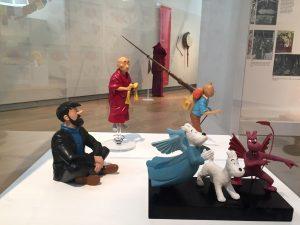Tintin at Museu Historia Catalunya