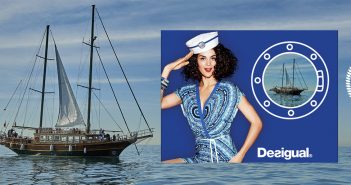Get on board and set sail by Desigual