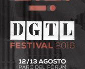 DGTL 2016 – Barcelona's Eco-Techno Festival at Parc Forum 12-13 August