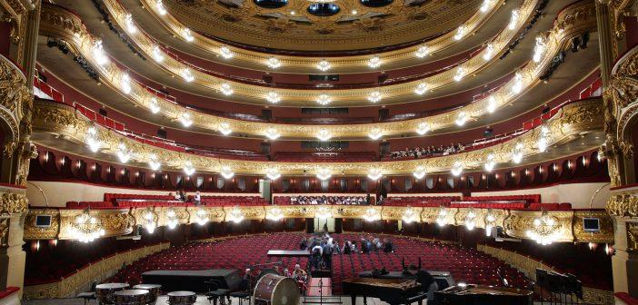 A tour of the opera, at Gran Teatre del Liceu
