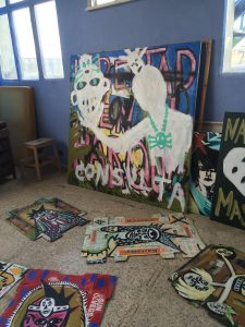 Inside Blanca Haddad's studio