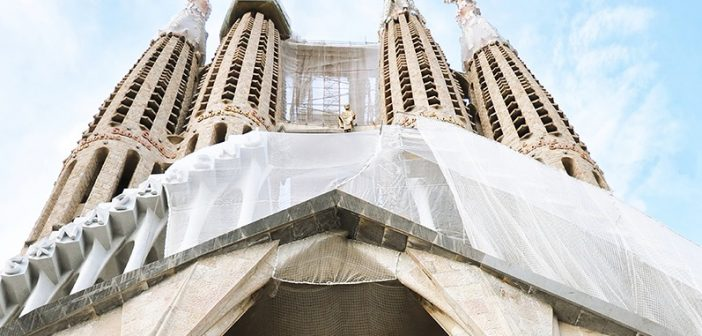 La Sagrada Familia (back)