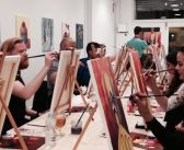 Wine and Painting at Arte Bar