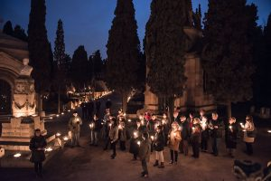 Cemetery Montjuïc Night Tour