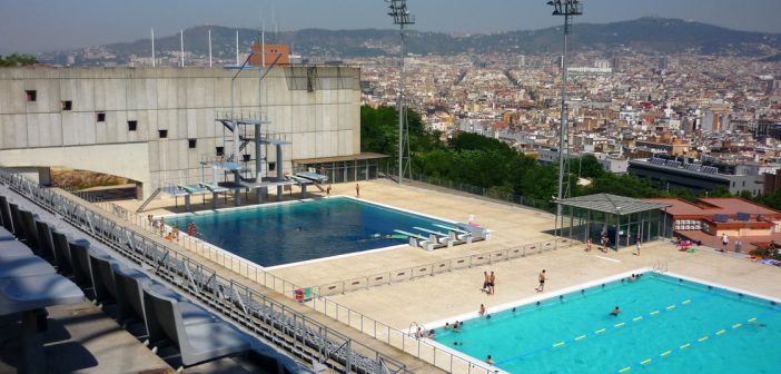 montjuic pool