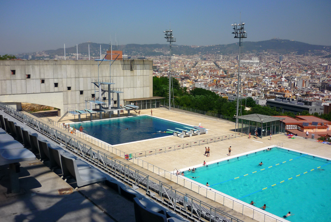 Top 5 outdoor swimming pools in barcelona barcelona connect - Piscines municipals barcelona ...
