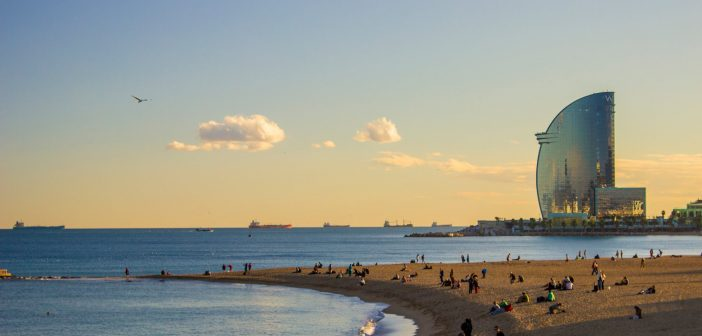 Which beach should you go to in Barcelona?
