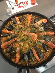 Paella completed