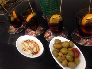 vermouth and olives