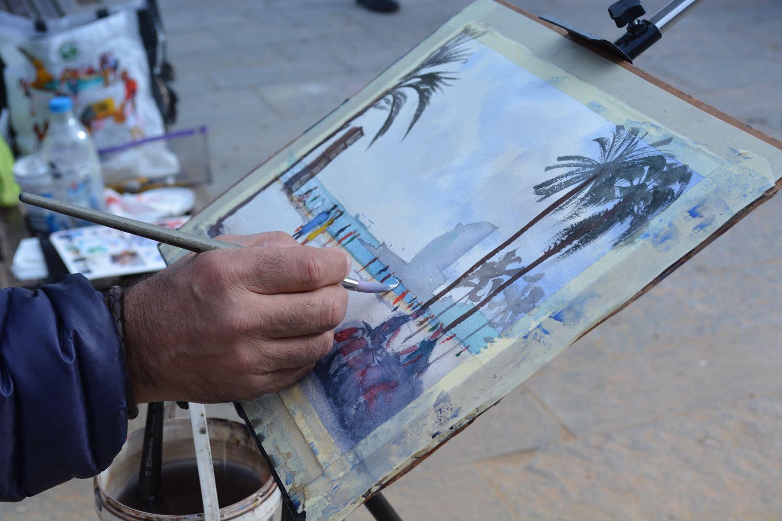 Brush Up Your Watercolour Skills La Terraza Atico