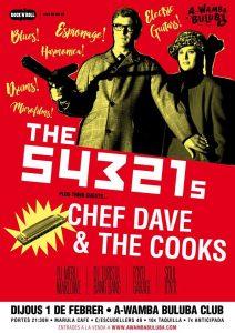 A Wamba presenta The 54321s + Chef Dave & The Cooks